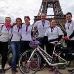 RNF cycling London to Paris