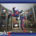 RNF at the indoor skydive center in Basingstoke