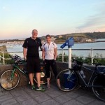 RNF cycling the coast to coast in Devon