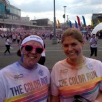 RNF running the Colour Run