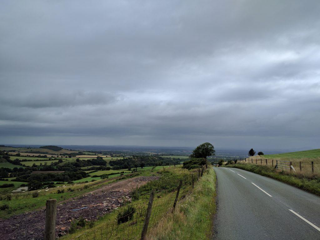 Descending into Shrewsbury