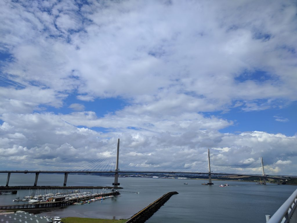 New firth of forth crossing