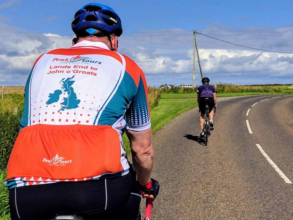 Peak Tours cycle challenges